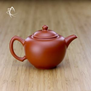 Hand Thrown Elegant red Clay Teapot Featured View