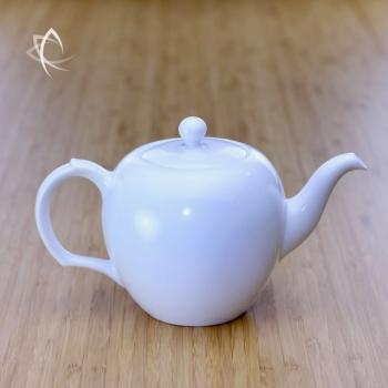 Large Mei Ren Jian Satin White Teapot Featured View