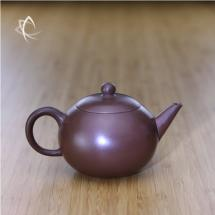 Yuan Zhu Purple Clay Teapot Side View