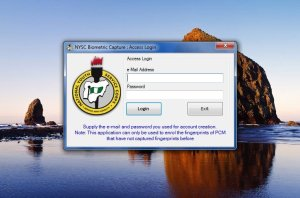 How to Install NYSC Biometrics Desktop Client for Windows