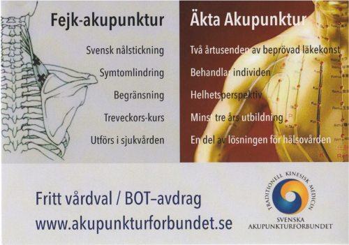 Skillnad på Akupunktur och Akupunktur