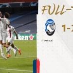 CL 準々決勝 アタランタ vs PSG