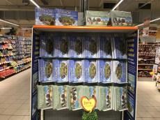 prodej knih v Hypermarketu Globus Trmice