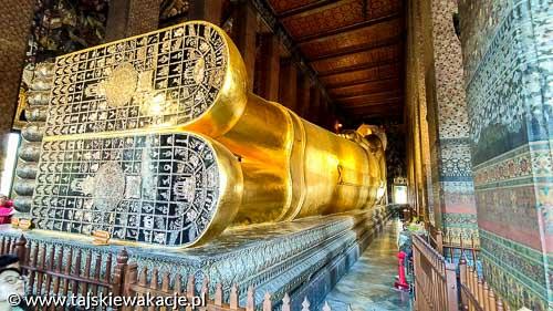 Tajskie wakacje - Wycieczki Tajlandia - Śpiący Budda Bangkok