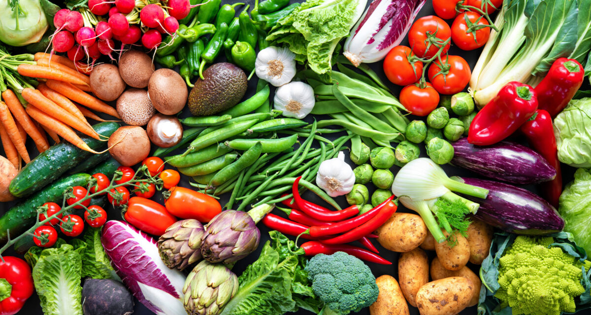 色んなお野菜の集合