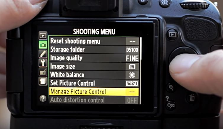 nikon atur picture profile - cara buat video sinematik
