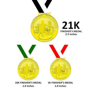 Takbo.ph Runfest 2014 Medal
