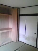 和室の収納は中まで新しくしてみました。