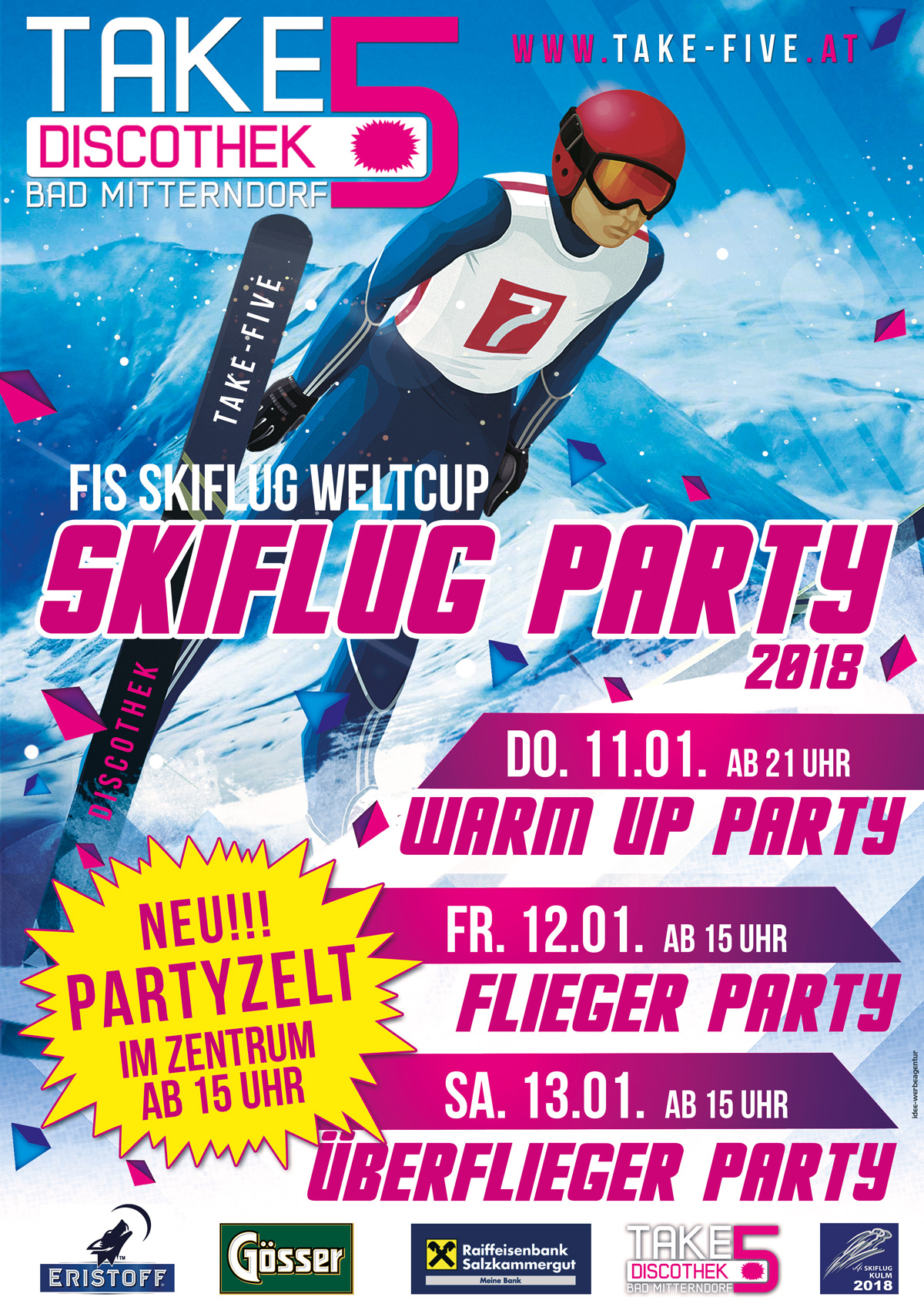 Skiflieger Warm Up Party!