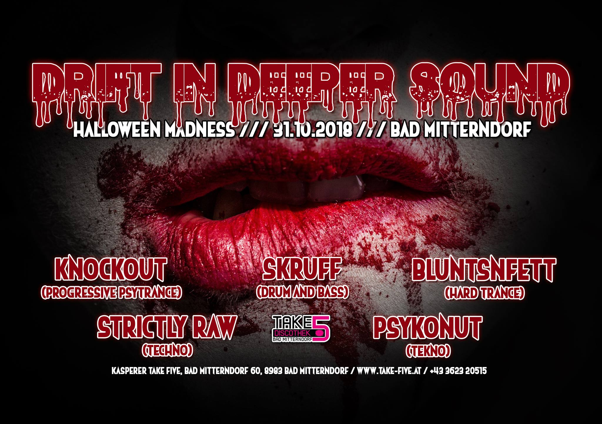 Drift in Deeper Sound 3.0 Halloween Edition