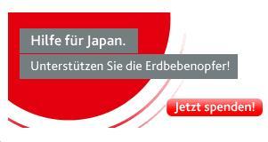 Spenden für Japan