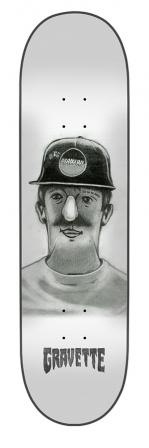 8.25in x 32.04in Gravette KOTD Creature Skateboard Deck