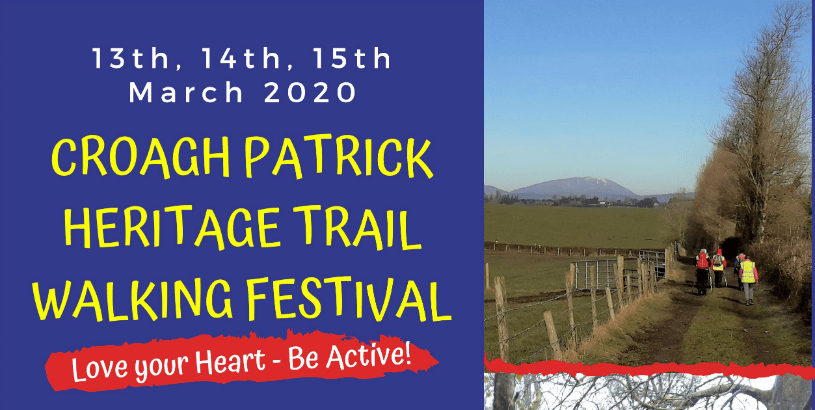 Croagh Patrick Heritage Trail Walking Festival 2020