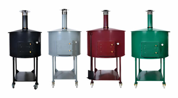 Wizard wood fired pizza ovens