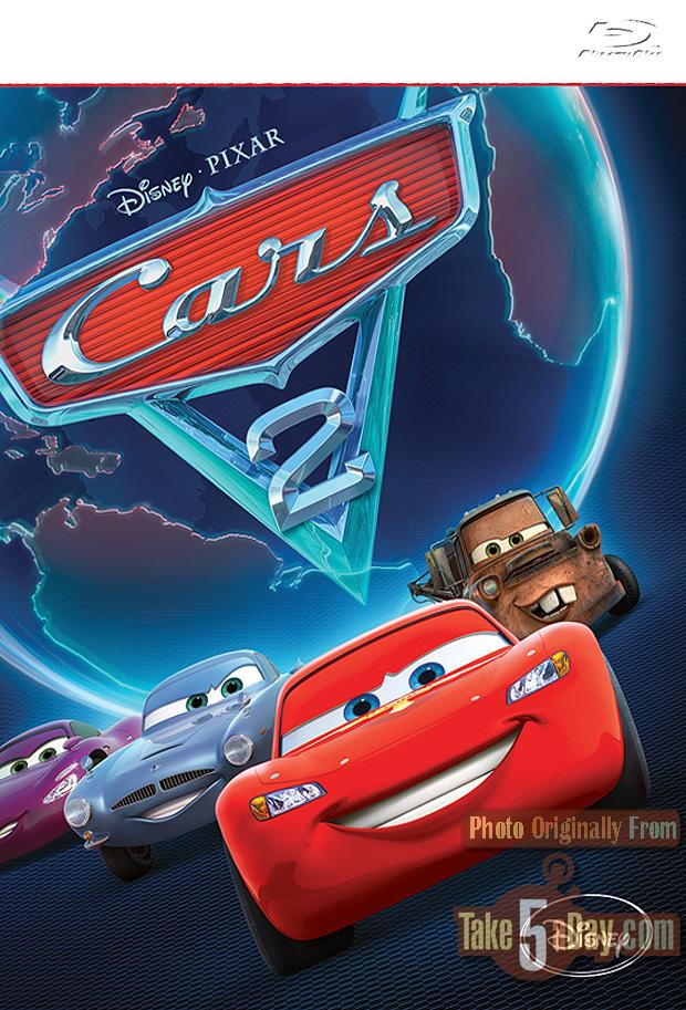 Mattel Disney Pixar Diecast CARS 2 CARS 2 DVD Packaged