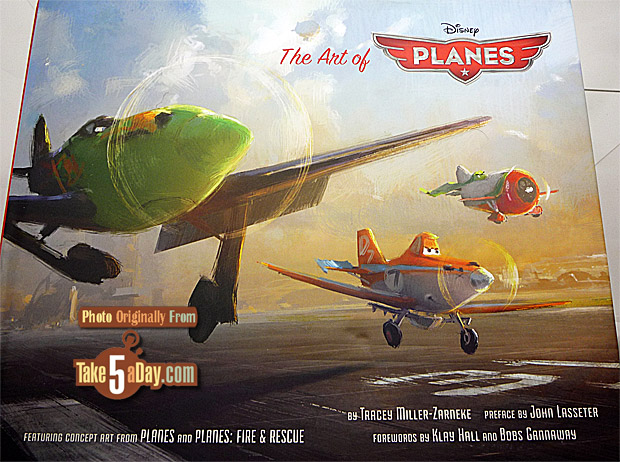 Take Five A Day Blog Archive Disney Art Of Planes