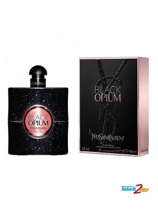 Yves Saint Laurent Black Opium Perfume For Women 90 Ml Edp