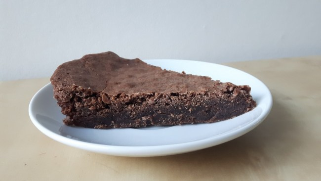 Swedish chocolate cake: kladdkaka