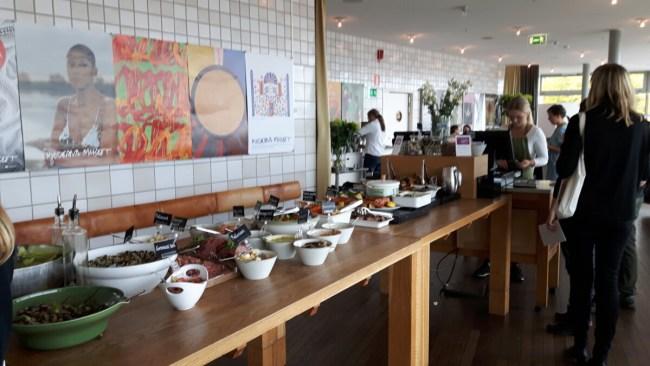 Buffet restaurant Moderna Museet