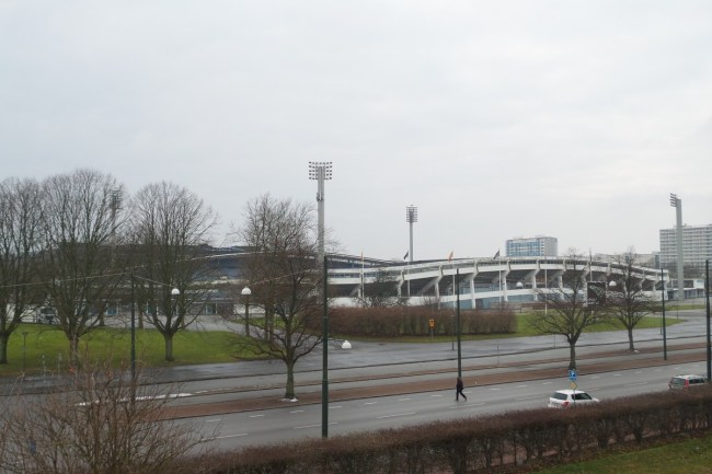 Oud stadion Malmö