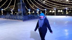 Winter in Stockholm - ijsschaatsen