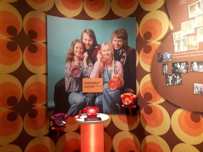 Rode telefoon ABBA museum