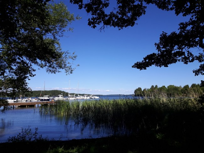 Birka harbour