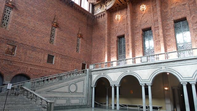 De Blauwe Zaal Stadshuset Stockholm
