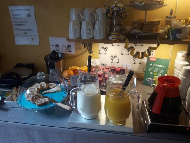 Ontbijtbuffet Hotel Emma Östersund