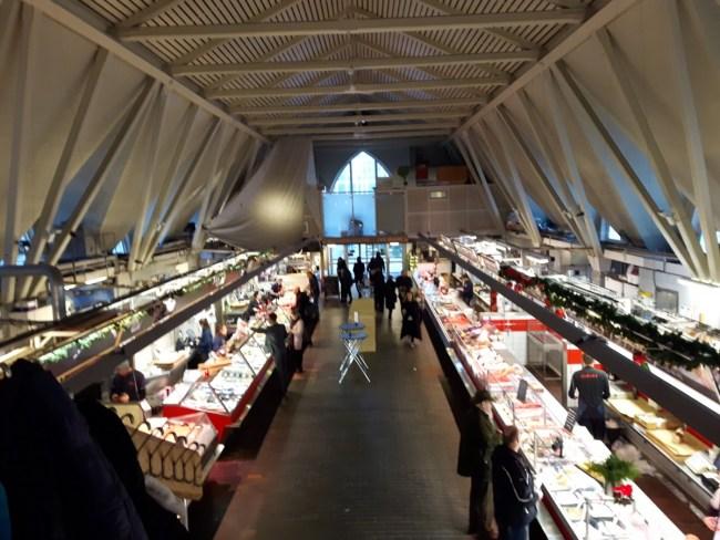 Feskekôrka Göteborg interieur