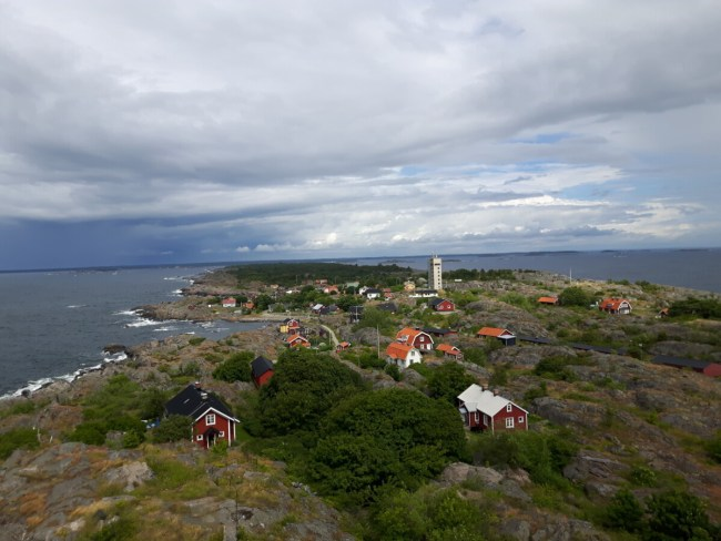 Landsort - zicht op Lotstornet