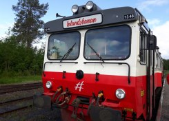 Inlandsbanan Östersund Gällivare