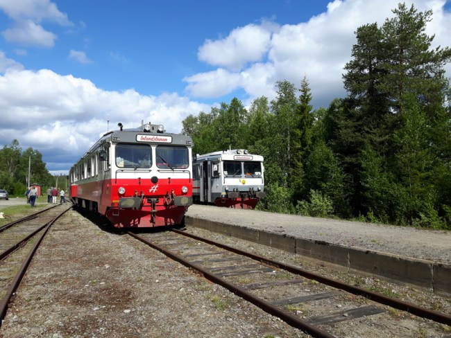 Inlandsbanan - Zweeds Lapland Slow travel in Zweden: Inlandsbanan deel 2 van Östersund naar Gällivare