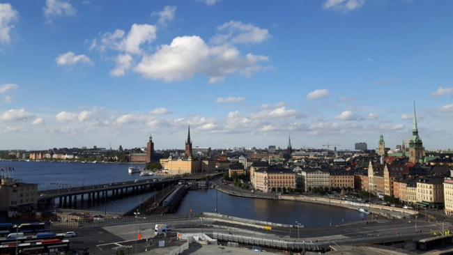 View on Stockholm