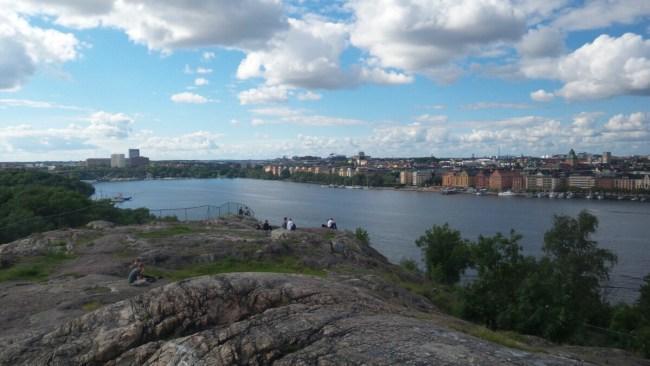 Zicht over Stockholm