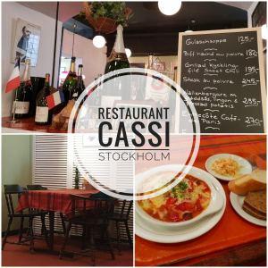 Restaurant Cassi in Stockholm