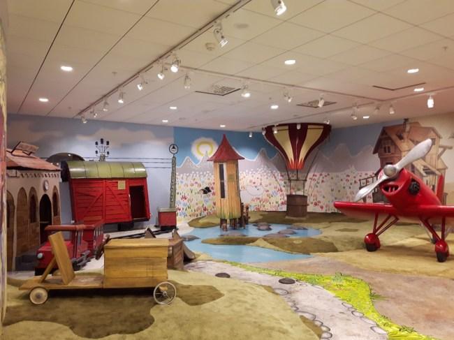 Kinderzone in Arlanda
