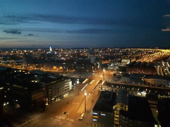 Room with a view - Malmö Live Malmö by night