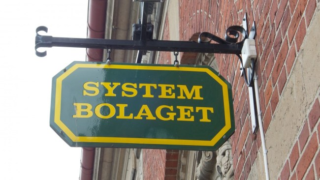 Buying alcohol in Sweden - systembolaget