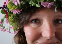 Midzomer tutorial bloemenkroon maken