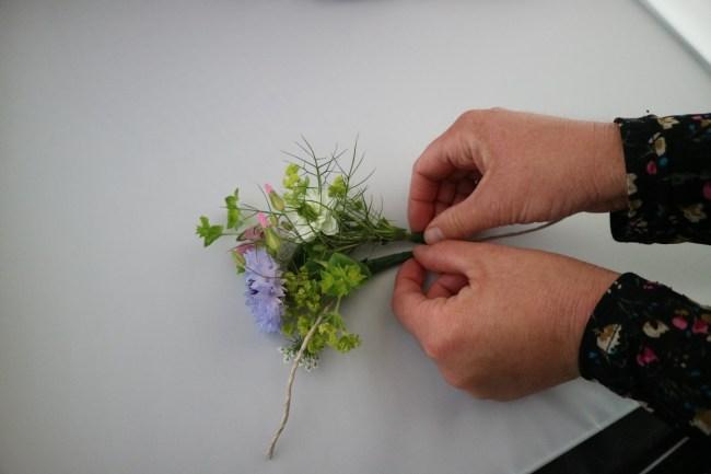 Tutorial bloemenkroon maken