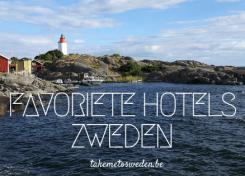 Favoriete hotels in Zweden