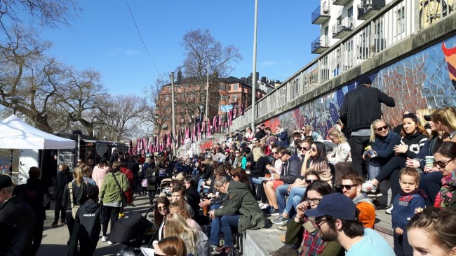 Hornstulls Marknad - Stockholm