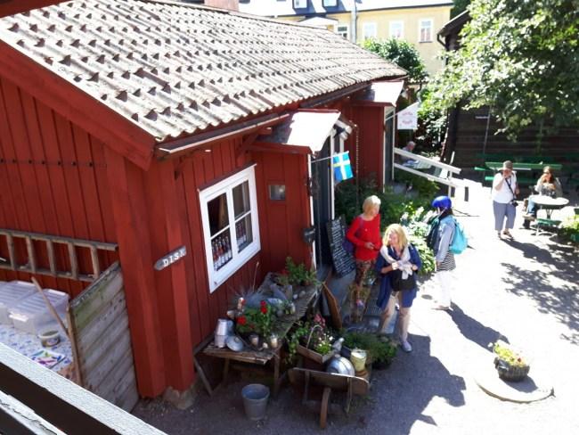 Café Grassagarden in Strängnäs
