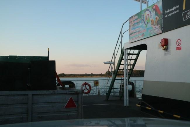 Met de ferry van Polen naar Zweden, van Swinemünde naar Ystad