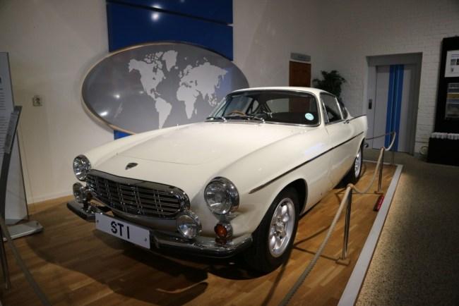 Volvo Museum Göteborg - Volvo van Roger Moore
