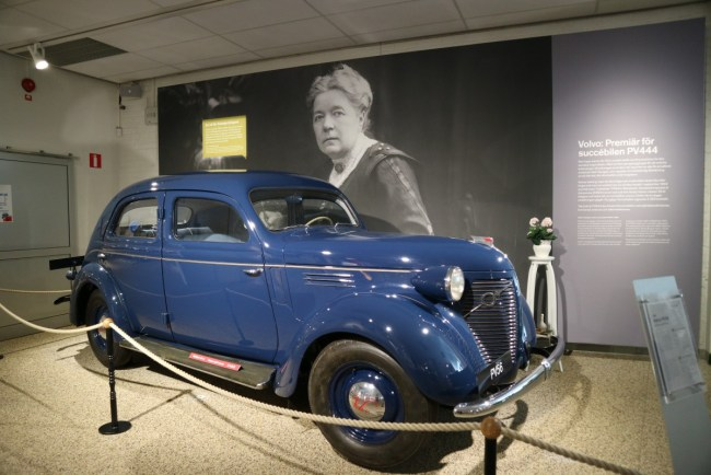Volvo Museum Göteborg - Volvo van Selma Lagerlöf