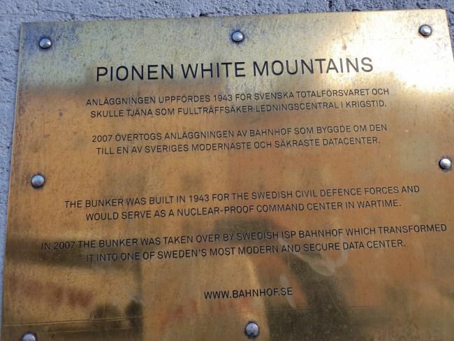 Pionen White Mountains