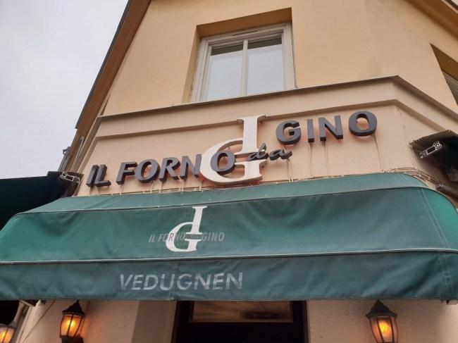 Il Forno da Gino - pizza in Stockholm