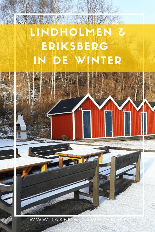 Lindholmen & Eriksberg in de winter  - Göteborg